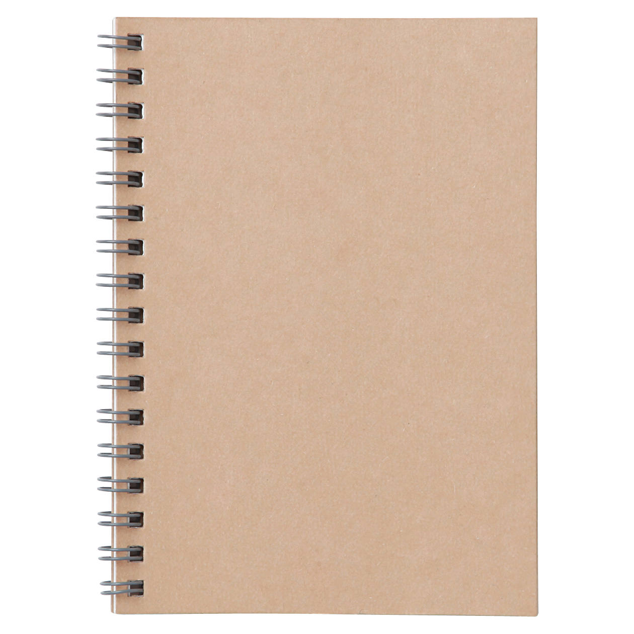 Planting Tree Paper Double Ring Notebook A6
