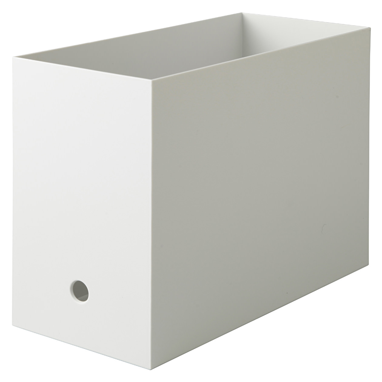 PP Box File - Grey, Wide