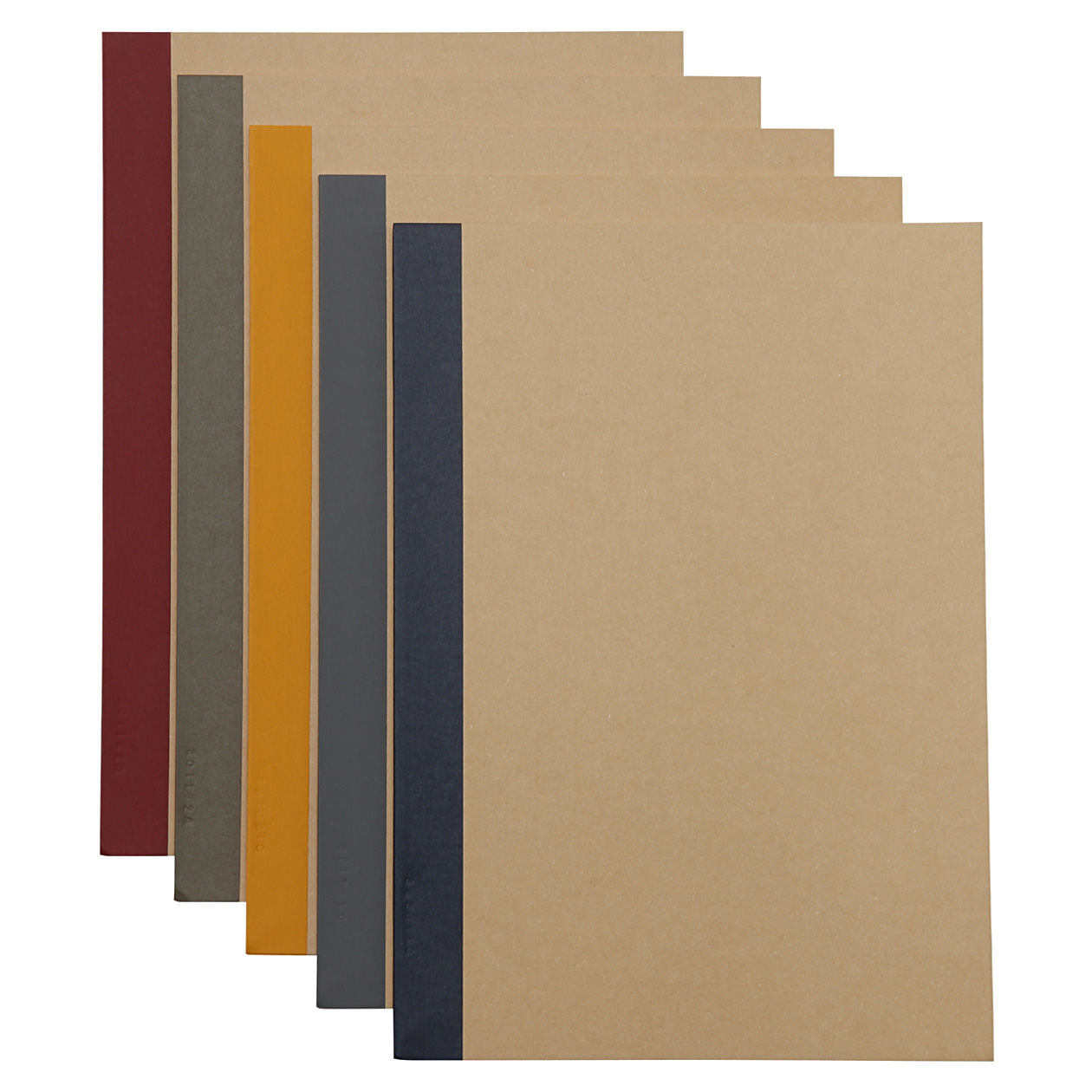 B5 Notebooks - 5 pack
