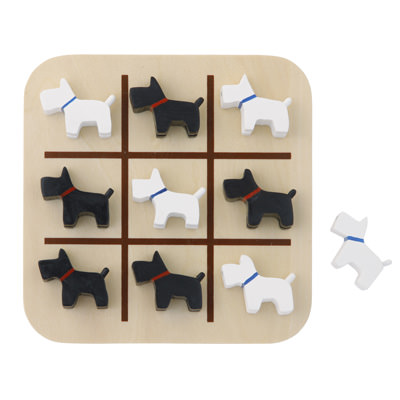 Noughts And Crosses Game Dog