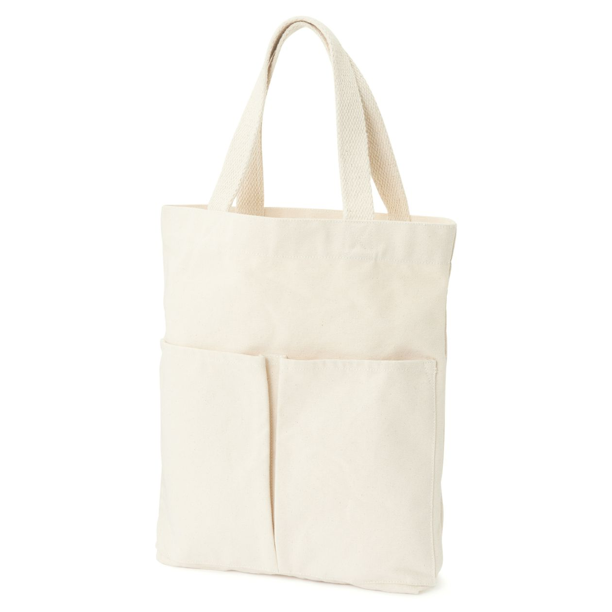 Organic Cotton Vertical Type My Tote Bag